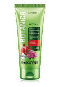 98% d'ingrédients d'origine naturelle dans ce baume après shampooing ,1.79€