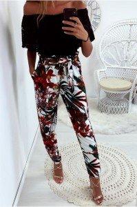 magnifique-pantalon-fluide-motif-fleuri-en-fond-blanc-avec-poches-et-ceinture_2_1024x1024@2x